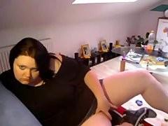 1fuckdatecom German large pretty woman on webcam