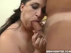 BBW Dominique Gets Picked , Exposed And Schlong