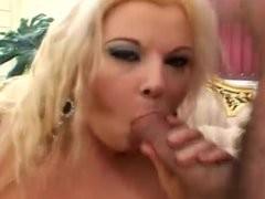 BBW gets tit fucked