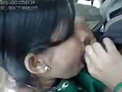 Desi Indian GF Drilled in Car