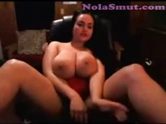 Hot Corpulent BBW Large Titties Cam Show