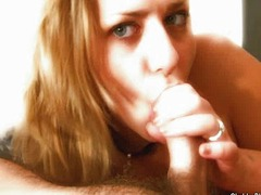 Italian golden-haired BIG GLAMOROUS WOMAN blow pleasure