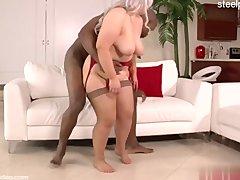 Lewd whore butt sex