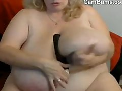 Mature BIG CHARMING WOMAN With Giant Boobs